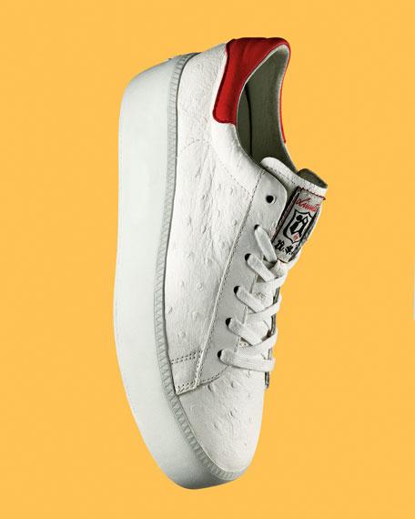 Cult Lace Up Platform Sneaker, White