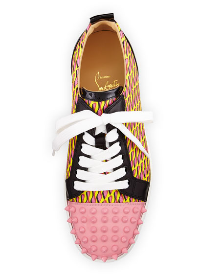 Louis Junior Spikes Cap-Toe Sneaker