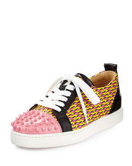 Louis Junior Spikes Cap-Toe Sneaker