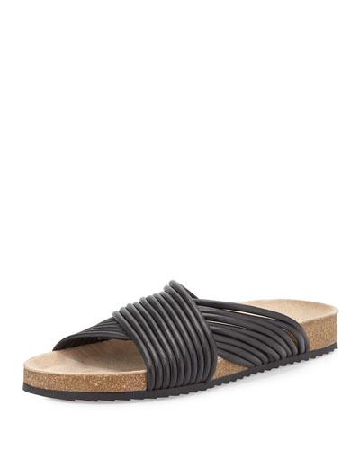 Petra Multi-Strand Crisscross Sandal