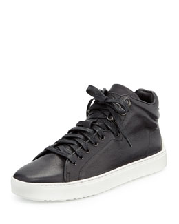 Kent High-Top Leather Sneaker