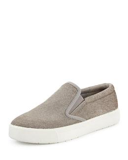 Banler Calf Hair Skate Shoe