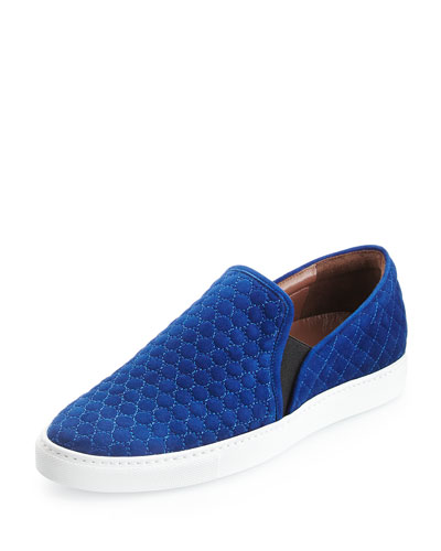 Huntington Quilted Suede Skate Shoe