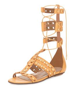 Rockstar Gladiator Sandal, Camel