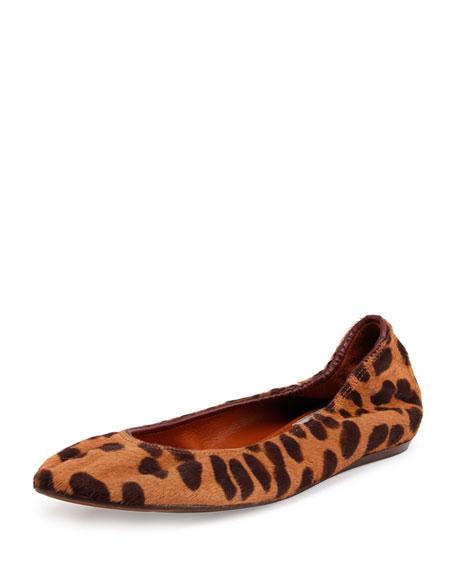 Lanvin Leopard Ballet Flats websites online 3tAeS26