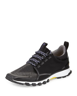 Adizero XT Woven Sneaker, Black/Yellow