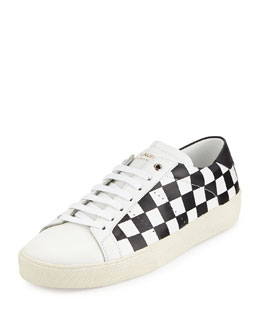 Damier Checked Low-Top Sneaker