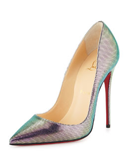 So Kate Disco Red Sole Pump