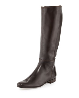 Napa Leather Mid-Calf Boot