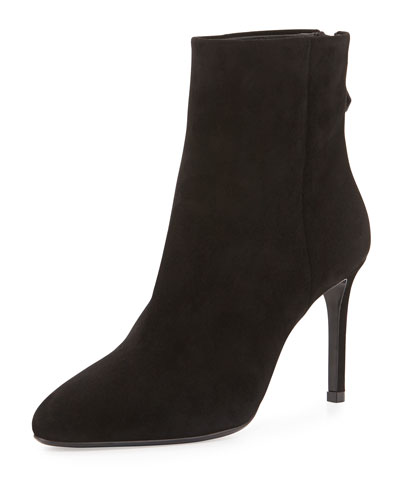 Simple Suede Ankle Boot