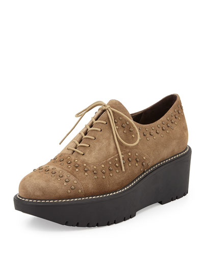 Zealous Studded Platform Oxford