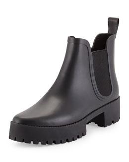 Charlie Platform Ankle Rainboot