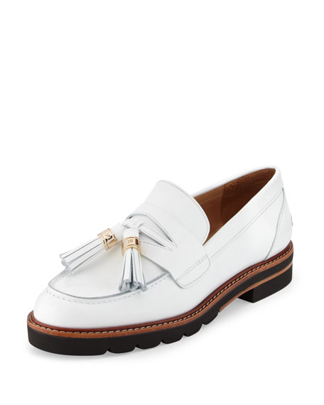 578dcb86208 Stuart Weitzman Manila Leather Tassel Loafer