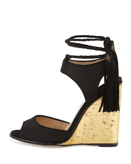 Paul Andrew Textured Leather Wedges under $60 cheap price outlet prices under $60 sale online cheap sale under $60 a2450