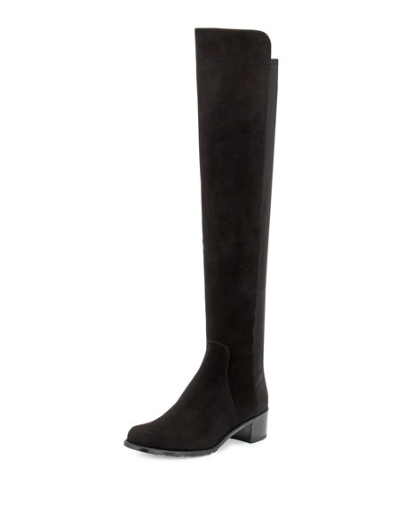 Stuart Weitzman Reserve Over-the-Knee Suede Boot