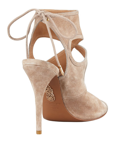 Sexy Thing Suede Cutout Sandals
