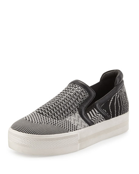 new arrival online sale websites Ash Knit Slip-On Sneakers fashion Style cheap online 9YgWDWeOPL