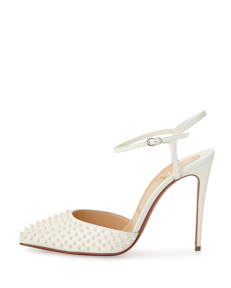 Baila Spike Leather Red Sole Pump