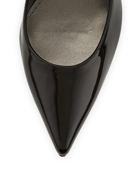 Heist Patent Leather Pump, Black