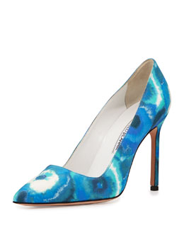 BB Tie-Dye 105mm Pump, Blue