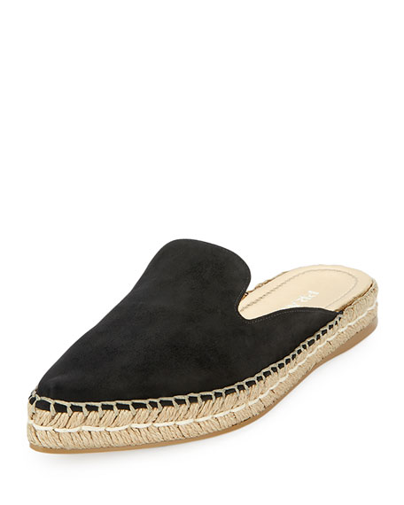 Prada Sport Suede Round-Toe Mules wholesale price cheap price cheap sale exclusive buy cheap best wholesale SGLkV4