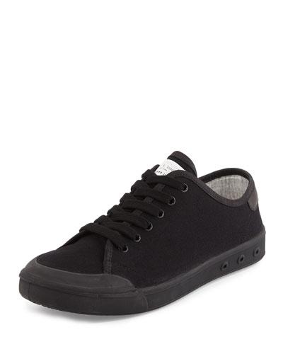 Standard Issue Canvas Low-Top Sneaker, Black