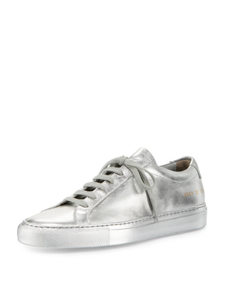 Sneakers - Lace Up Sneaker Leather Silver - silver - Sneakers for ladies Prada GD0yg