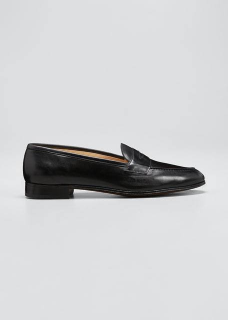 Calf Leather Penny Loafer