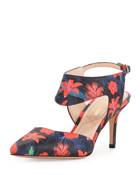 Nicholas Kirkwood Floral Striped Sandals sale pictures sale amazing price clearance for nice mvggJq