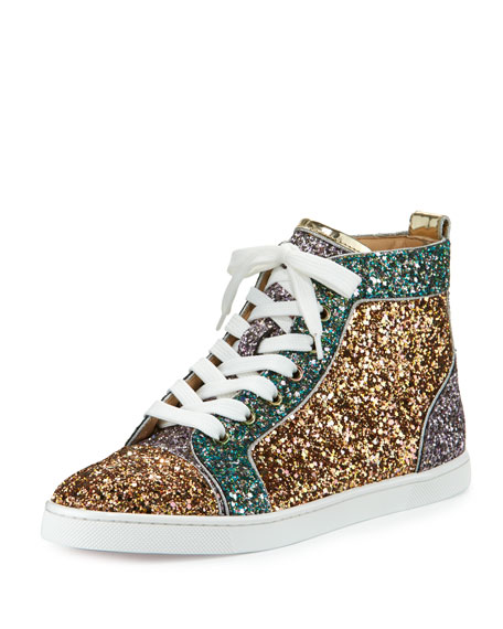 superior quality 5a8d5 f4ac3 Bip Bip Glittered High-Top Sneaker Multi
