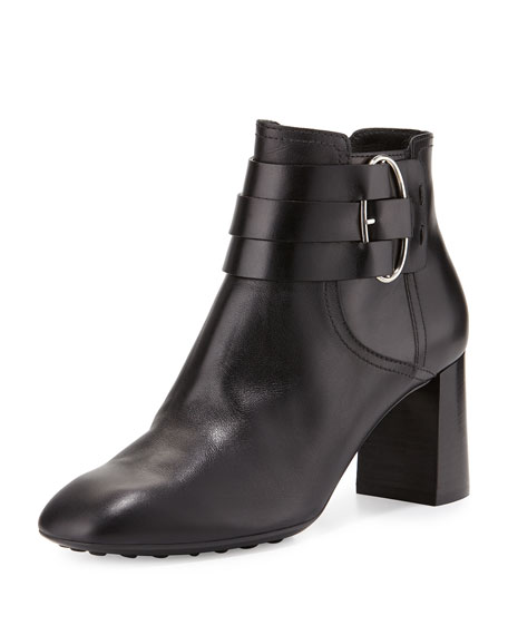 Tod's Leather Buckle Ankle Boots affordable online cheap for cheap cheap sale visit cheap price cost shop offer sale online gT5iOU7g