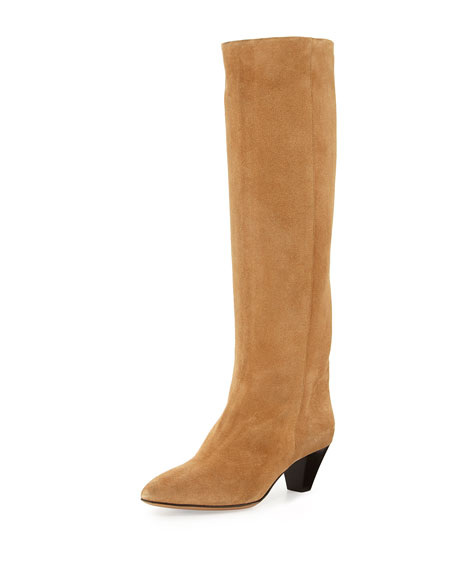 Isabel Marant Robby Tall Suede Boot