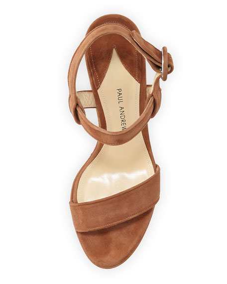 Stanton Suede Platform Sandal