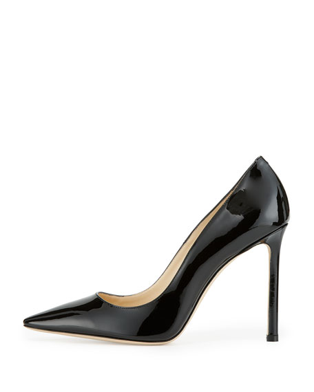 Romy Patent Leather 100mm Pump