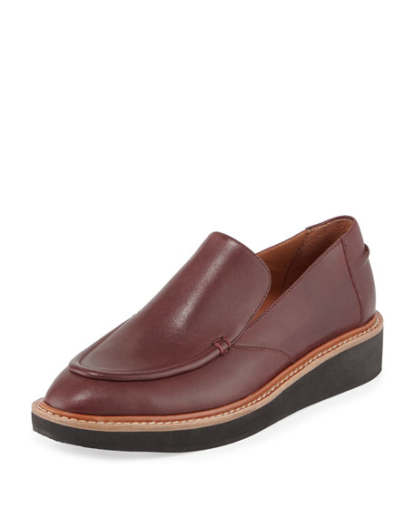 Derek Lam 10 Crosby Dana Leather Platform Slip-On,
