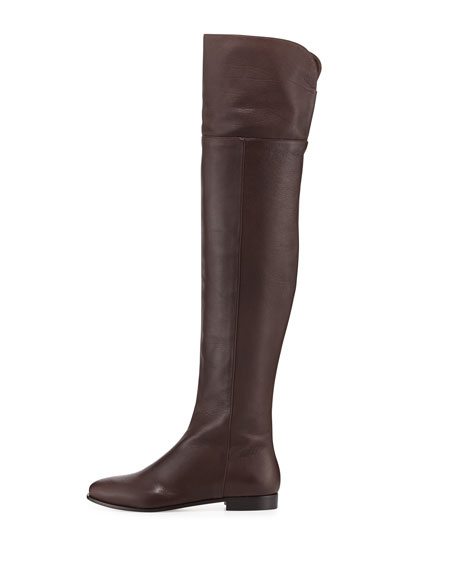 Choo Boot Leather Tall Jimmy Grained Mitty roBCxed