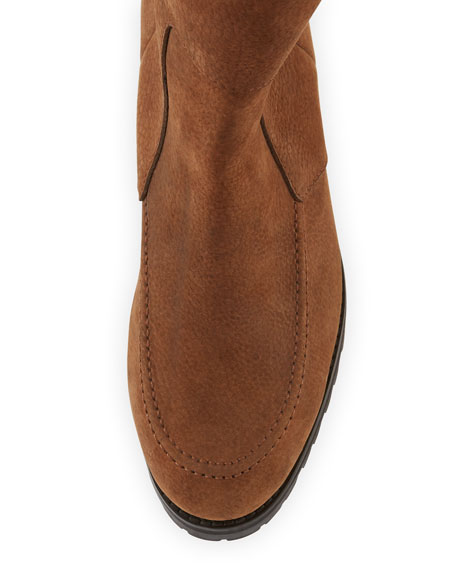 Deane Fur-Lined Leather Boot