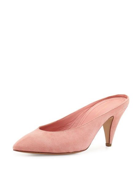 Suede 65mm Mule Pump