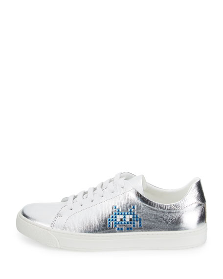 Space Invader™ Low-Top Sneaker, Silver