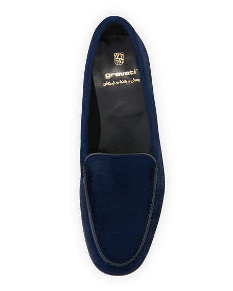 Calf Hair Venetian Loafer