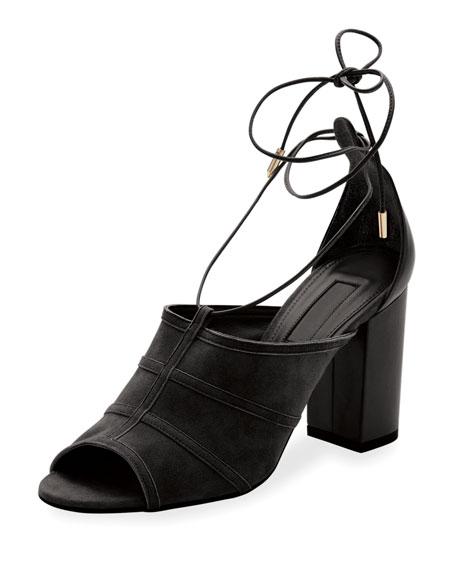 Very Eugenie Suede Block-Heel Sandal
