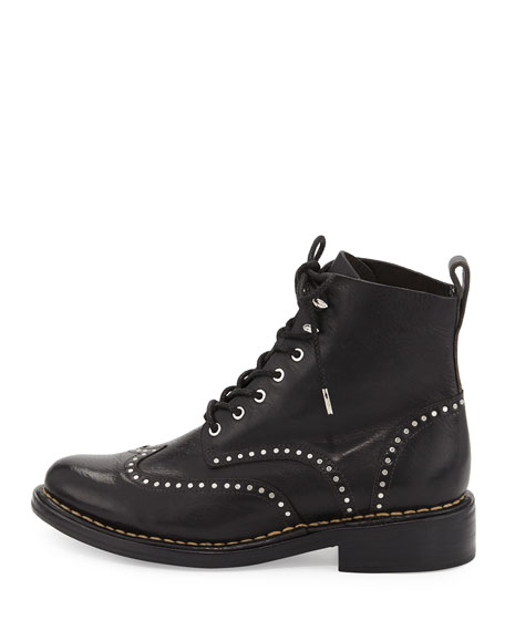 Cozen Studded Leather Boot