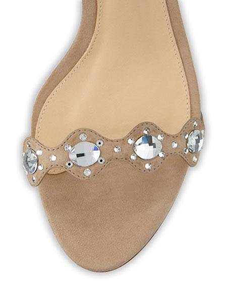 Mandy Rhinestone-Embellished Sandal
