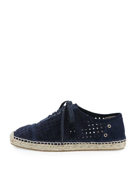 Dara Star-Perforated Espadrille Sneaker