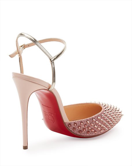 009b88908c7 Christian Louboutin Baila Spike Red Sole Pump
