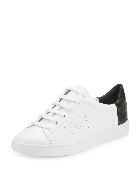 Vince Varin Leather Low-Top Sneaker
