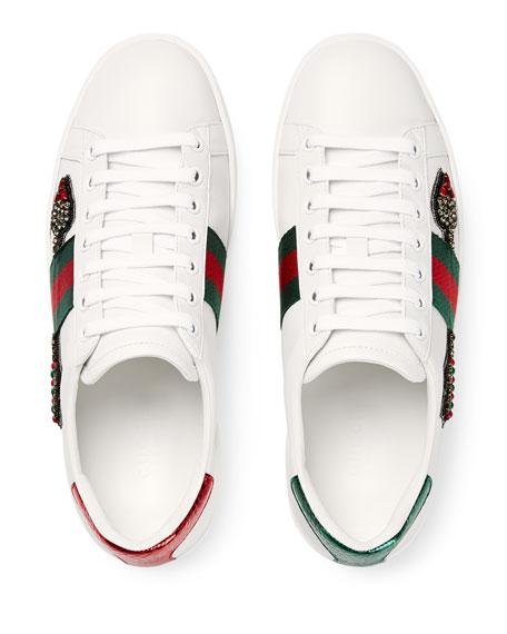 Flat New Ace Sneaker, White