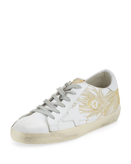 Sneakers Superstar Gold Silver EmbroideryGolden Goose OO0gU