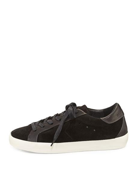 Starter Suede Low-Top Sneaker, Black