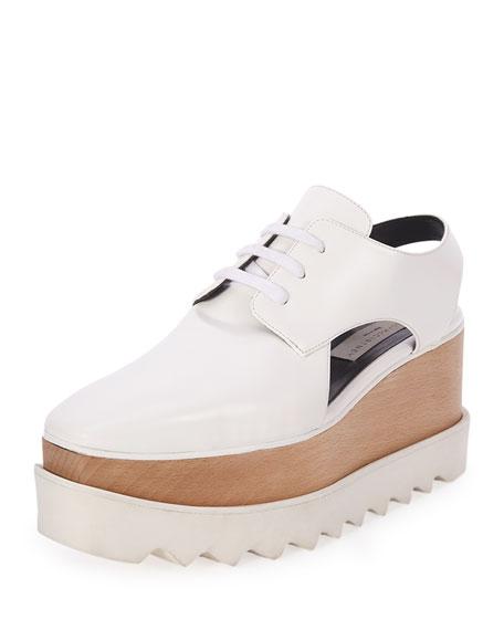 Elyse Cut-Out Platform Shoes Stella McCartney BsLcQR4Is
